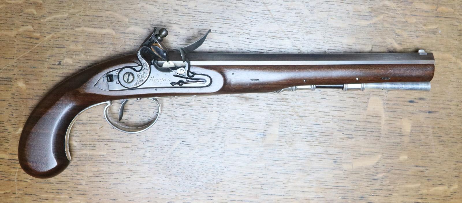 Wogdon duelling pistol reconstruction